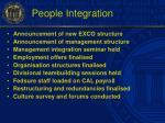 people integration