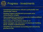 progress investments