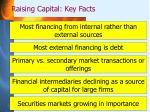 raising capital key facts