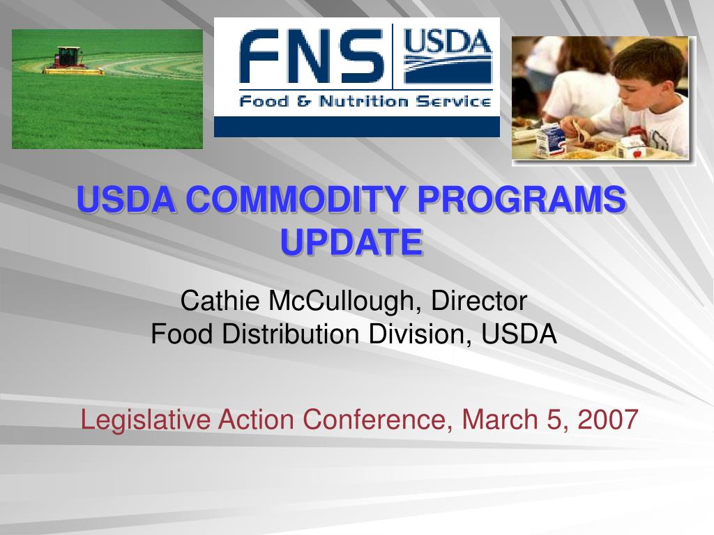 usda commodity programs update l.