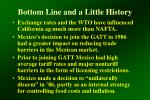 bottom line and a little history