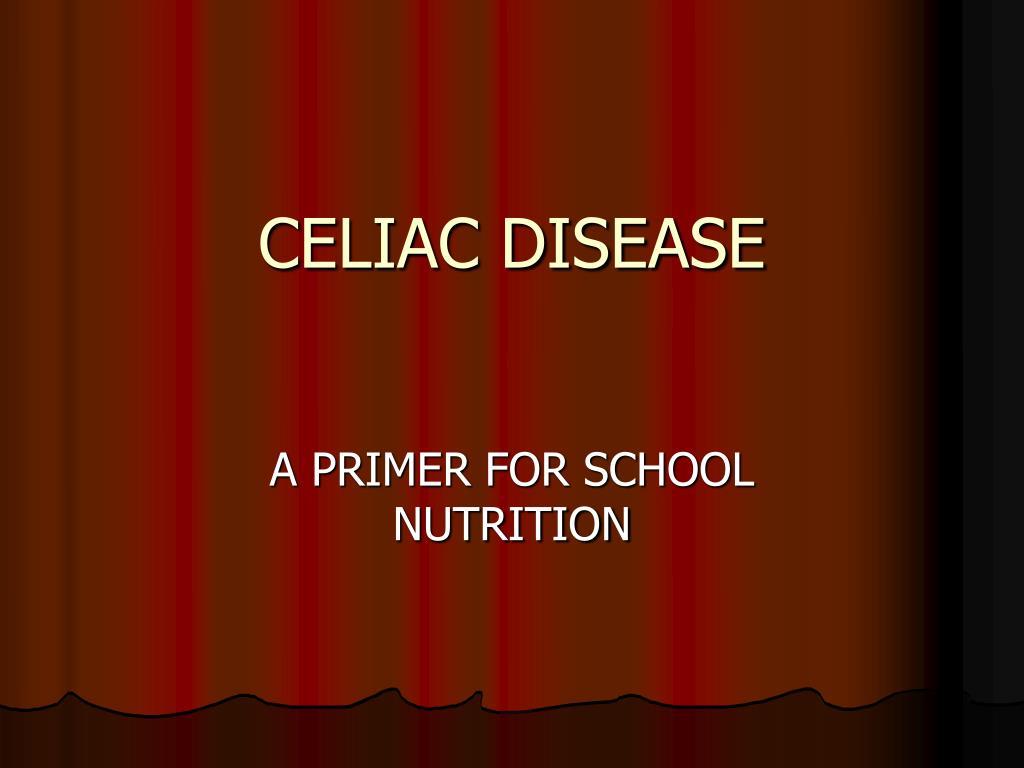 celiac disease l.