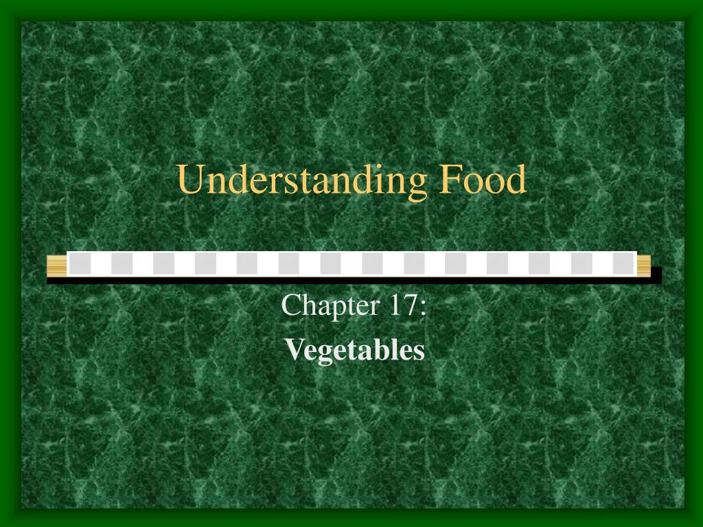 understanding food l.