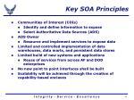 key soa principles