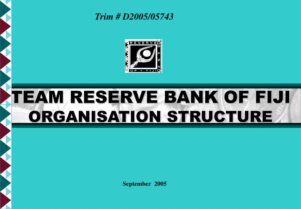 team reserve bank of fiji organisation structure l.