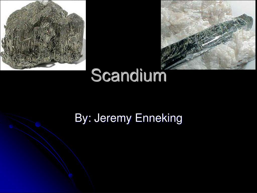 scandium l.