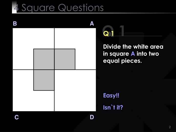 4 square questions2
