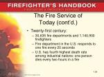 the fire service of today cont d25