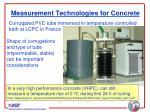 measurement technologies for concrete23