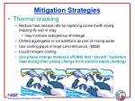 mitigation strategies29