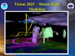 vision 2025 storm scale modeling
