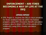 enforcement are fines becoming a way of life at the deq11