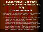 enforcement are fines becoming a way of life at the deq25