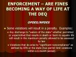 enforcement are fines becoming a way of life at the deq7