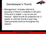gamekeeper s thumb20