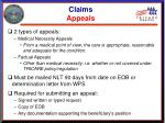 claims appeals