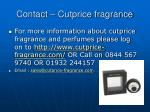 contact cutprice fragrance