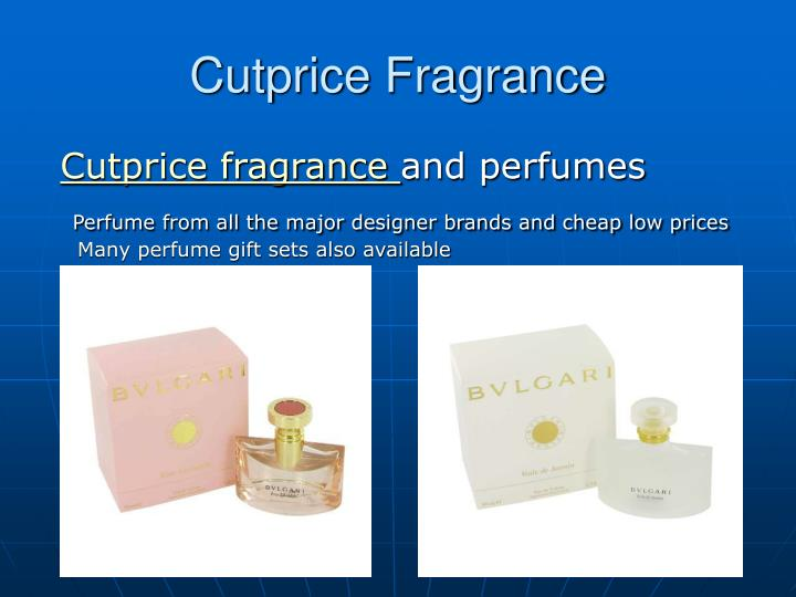 Cutprice fragrance