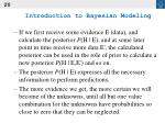 introduction to bayesian modeling20