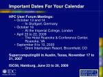 important dates for your calendar35