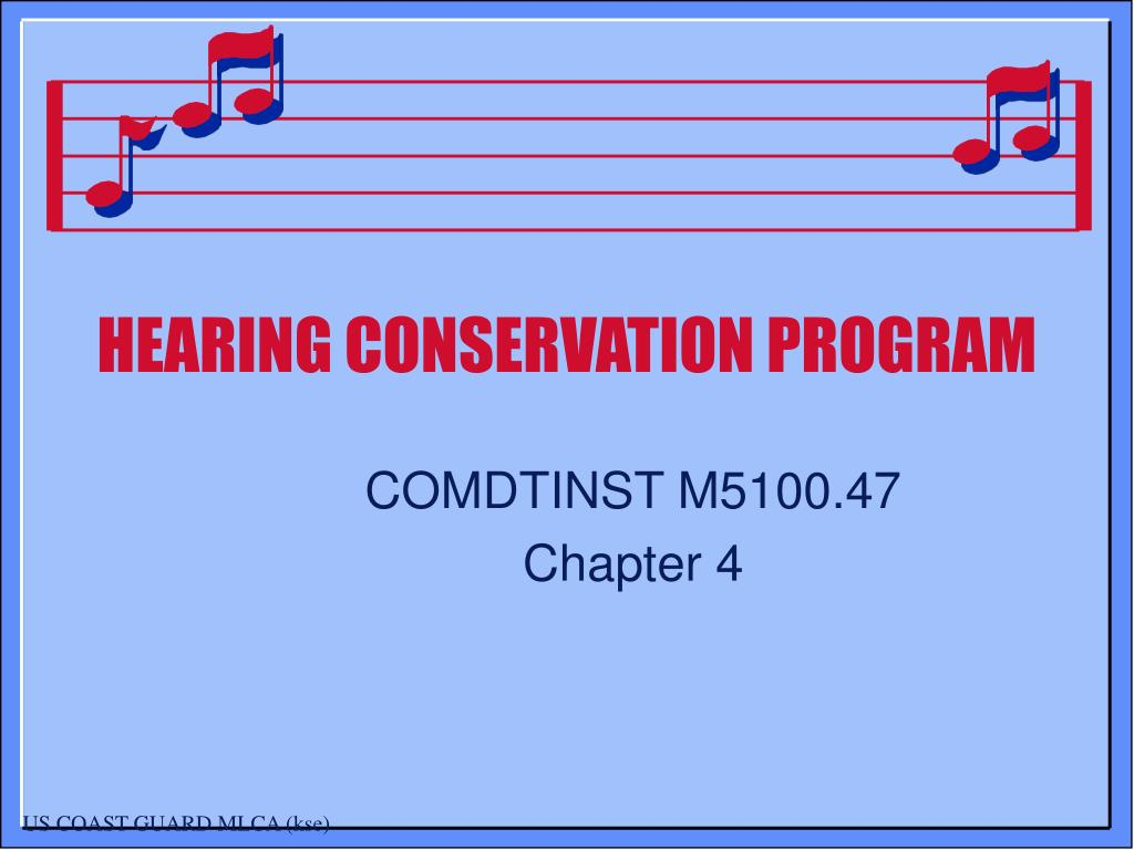 hearing conservation program l.