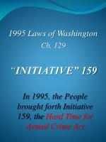 1995 laws of washington