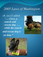2005 laws of washington