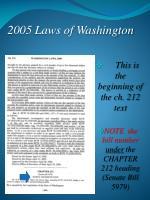 2005 laws of washington21