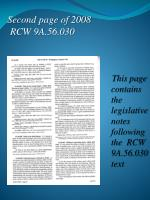 second page of 2008 rcw 9a 56 030