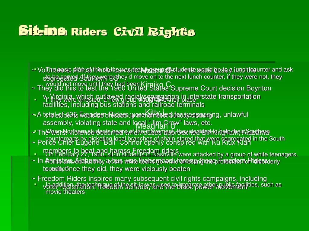 freedom riders l.