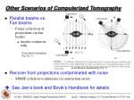 other scenarios of computerized tomography