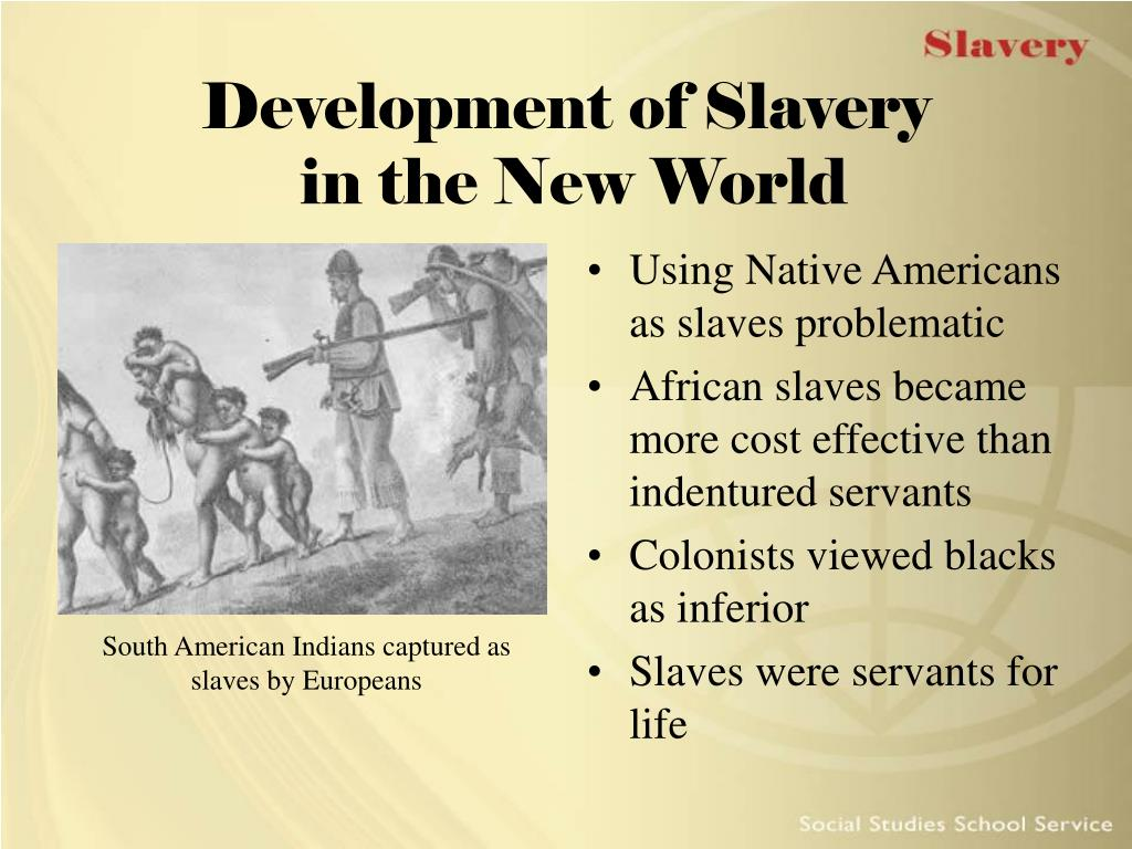 PPT - Slavery PowerPoint Presentation, free download - ID ...