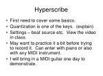hyperscribe