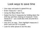 look ways to save time
