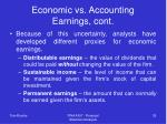 economic vs accounting earnings cont35