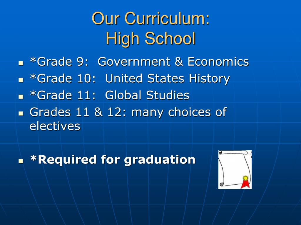 Our Curriculum: