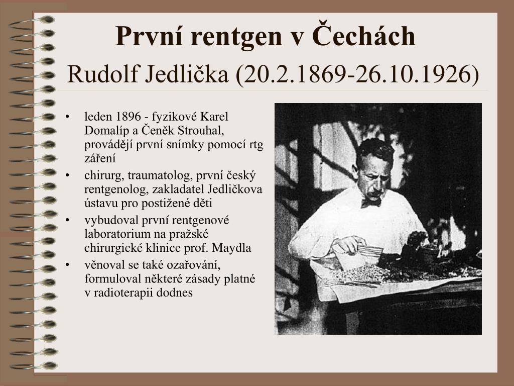 První rentgen v Čechách