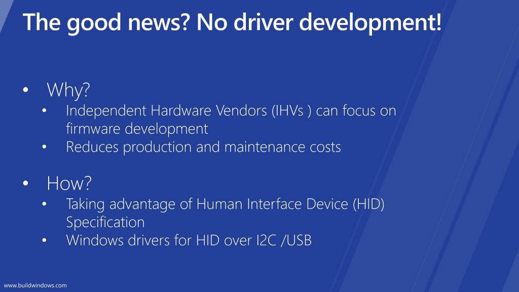 PPT - Touch Firmware d evelopment: talking HID to Windows