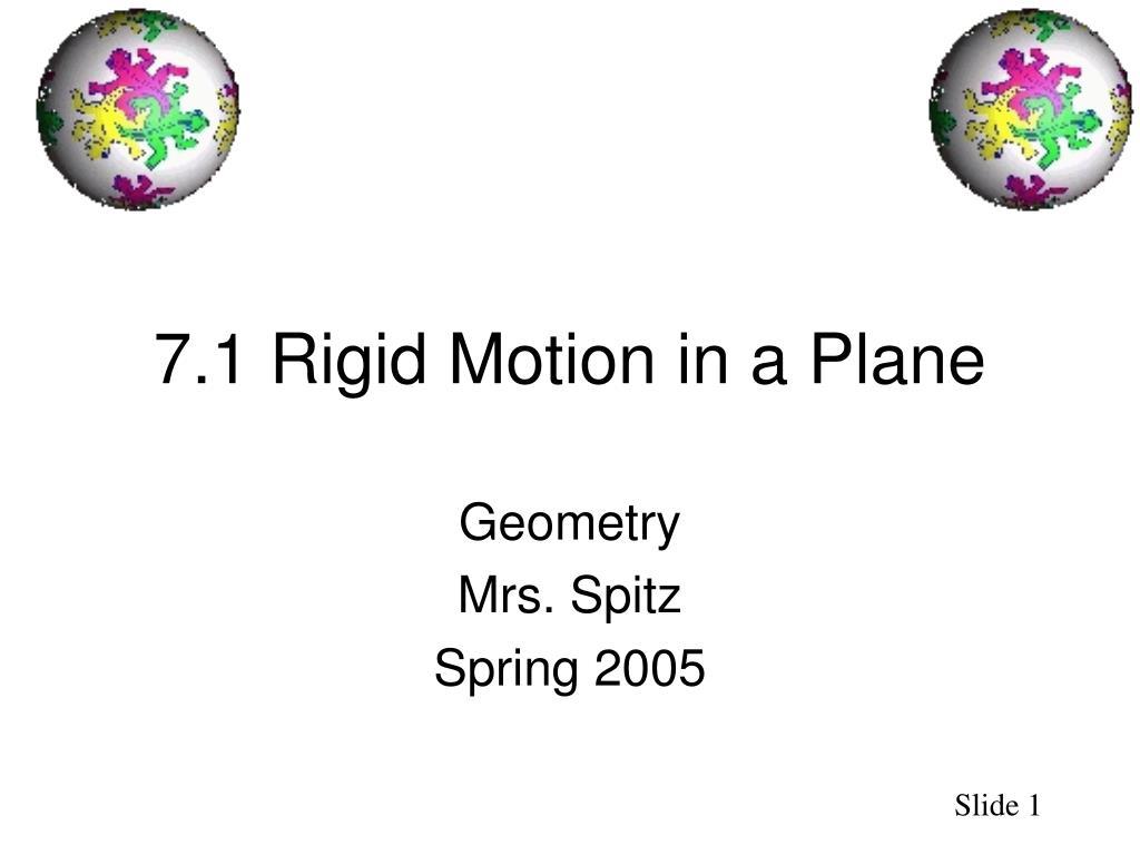 7 1 rigid motion in a plane l.
