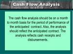 cash flow analysis19