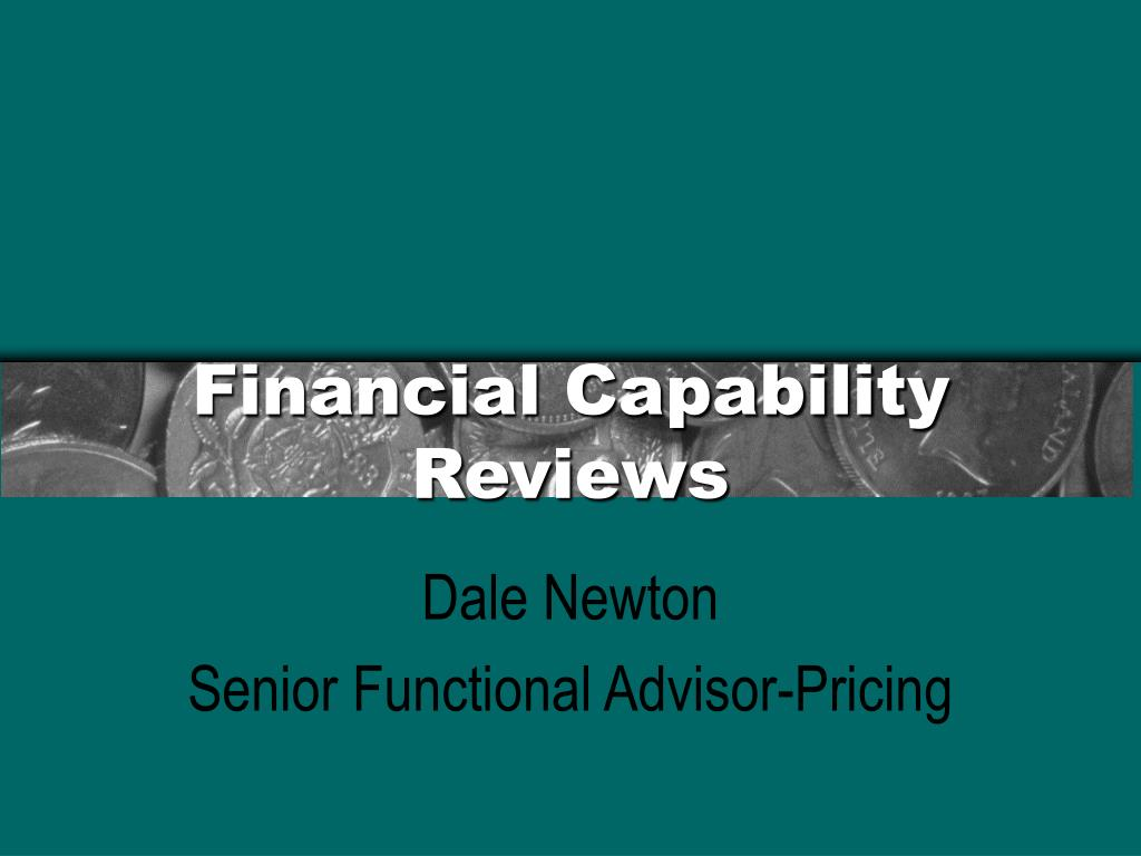 financial capability reviews l.