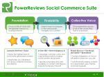 powerreviews social commerce suite