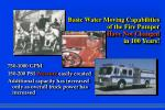 basic water moving capabilities of the fire pumper have not changed in 100 years