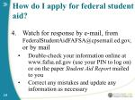 how do i apply for federal student aid15