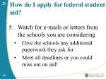 how do i apply for federal student aid16