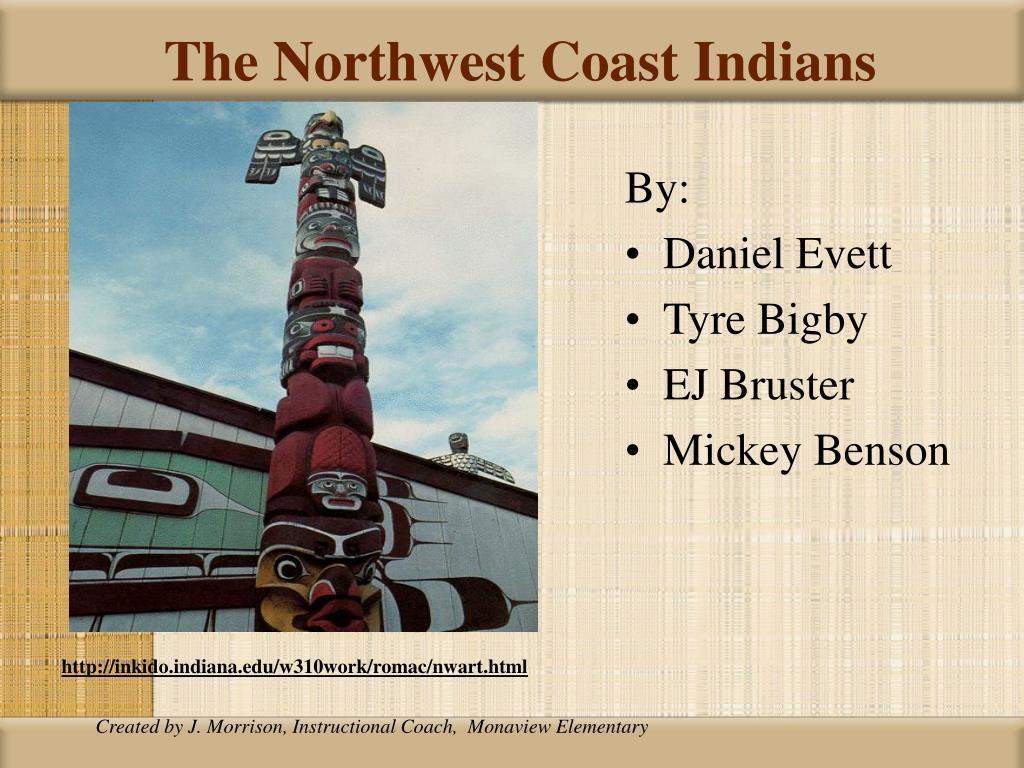 the northwest coast indians l.
