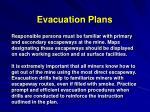 evacuation plans11