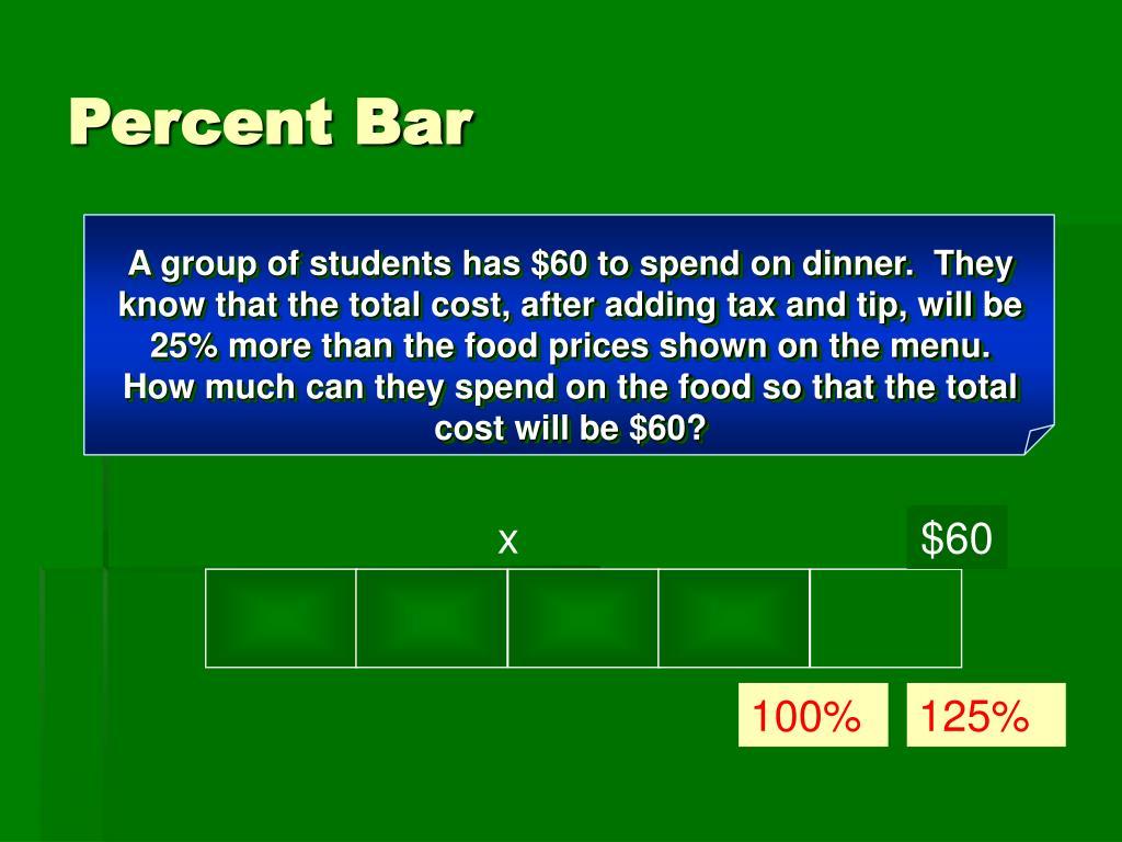 Percent Bar