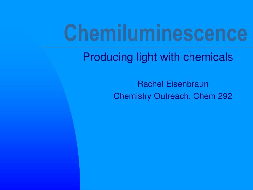 chemiluminescence l.