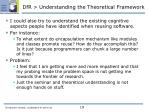 dfr understanding the theoretical framework